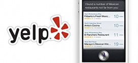 Yelp and Siri Integration