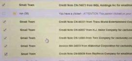 Suspicious Email Scam
